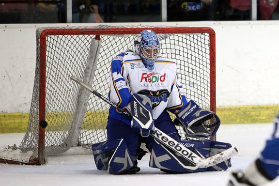Kustomflow appointed as official goalie mask painter for the Hull Stingrays