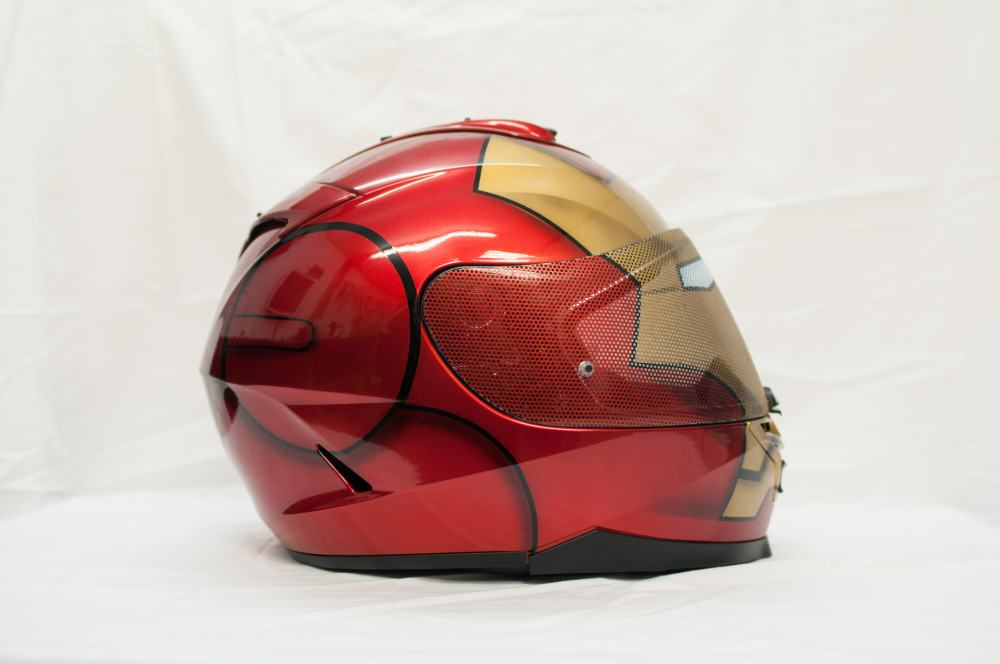 Now offering custom painted helmet visors