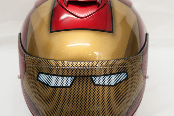 Iron Man Custom Painted Helmet 1