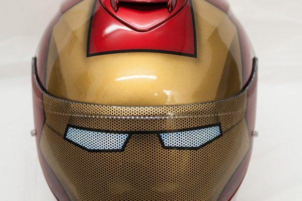 Iron Man Custom Painted Helmet 1