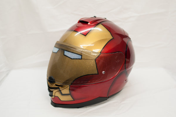 Iron Man Custom Painted Helmet 2