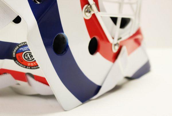 Custom Painted Ice Hockey Goalie Masks In The Uk