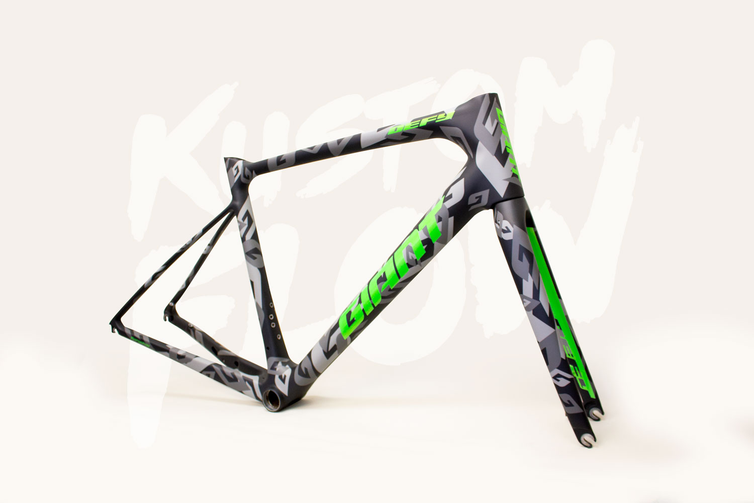 Cycle Frame Painting and Bike Frame Resprays - KUSTOMFLOW